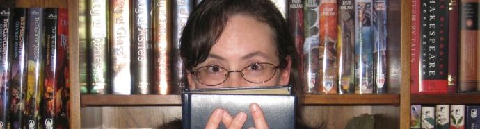 Hiding Behind Book
