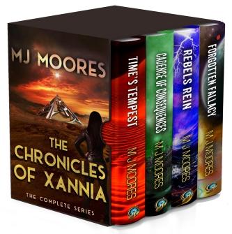 4 Book Boxset - Chronicles of Xannia